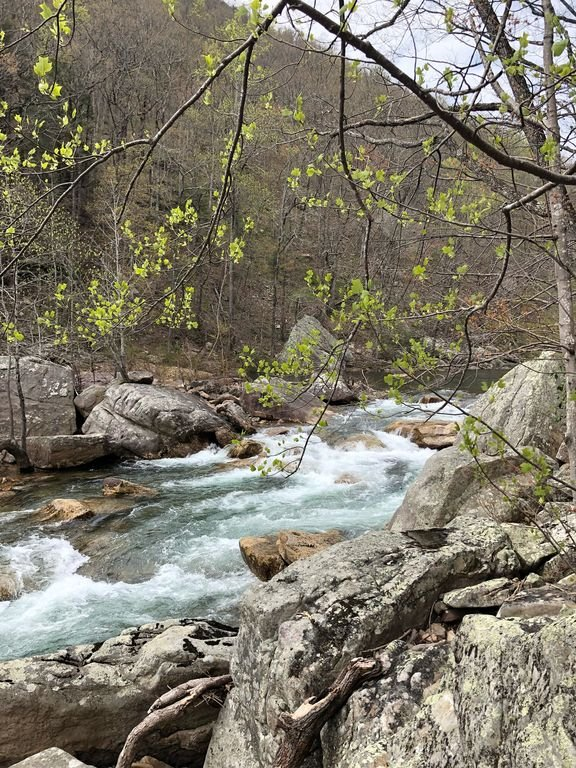 North Chickamauga Creek Gorge 10 min.drive