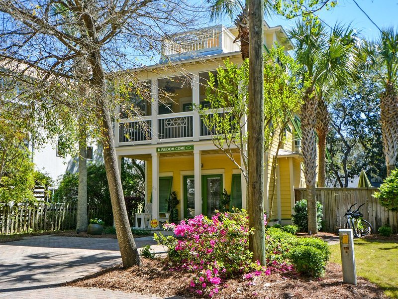Kingdom Come 3 Story Gulf View & Heated Pool Steps to Seaside!, holiday rental in Seagrove Beach