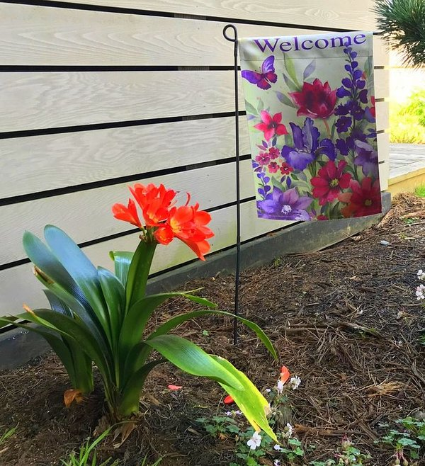 Heron House en flor