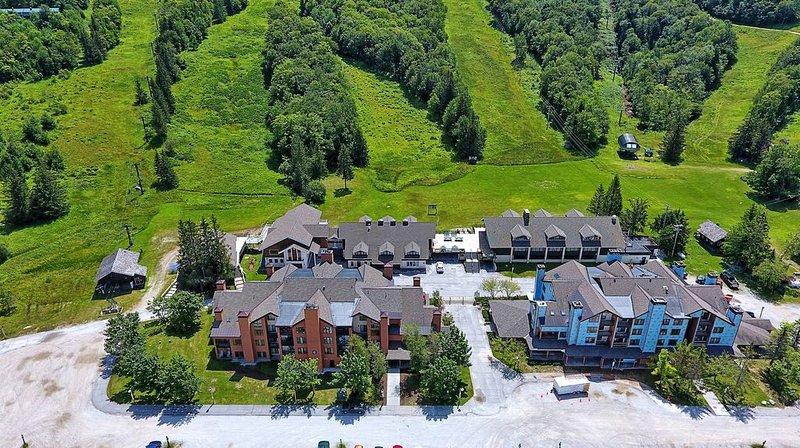 <center> Pico Resort niché au bas de la montagne Pico <center>