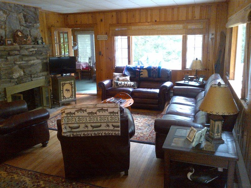 Cozy Cabin, built in the 1950's and in the family ever since.