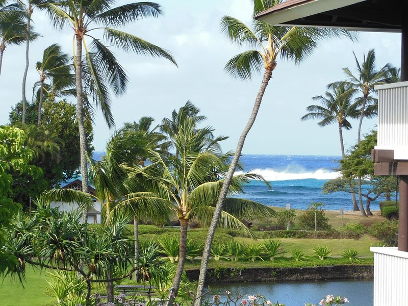 Kiahuna Plantation Ocean View/End Unit/Unit #239 bldg 36/Contact owner for rates, Ferienwohnung in Koloa