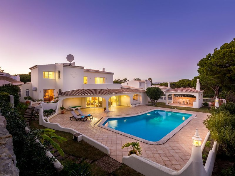 Luxuary Private Villa with pool, sleeps 8 . WiFi & European TV, vacation rental in Loule