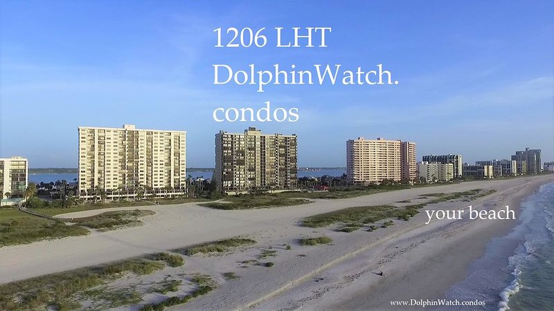Beach-Front Paradise w/ Water Views at Every Window, vacation rental in Clearwater