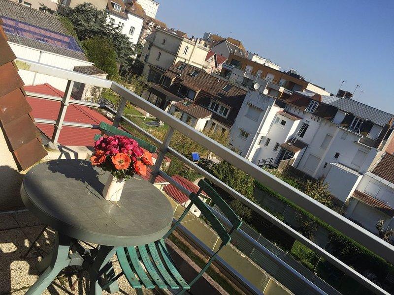Le Touquet Superbe duplex 3 pièces idéalement situé proche mer et commerces, vacation rental in Le Touquet – Paris-Plage