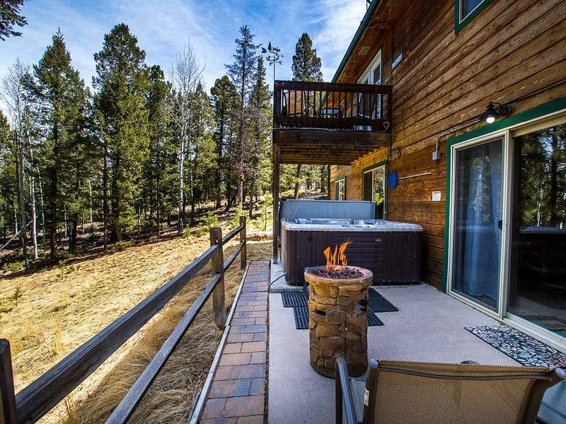 Relaxing Forest Retreat, Hot Tub, WiFi, Stocked Lakes, Near OHV & Attractions, holiday rental in Lake George