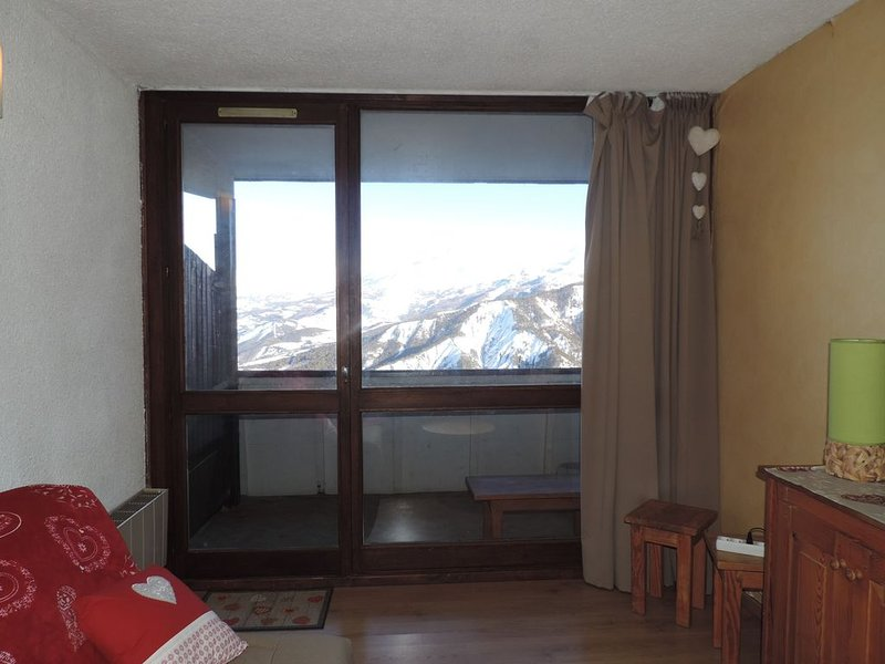 Pra Loup 1600 Studio 4 people, holiday rental in Uvernet-Fours