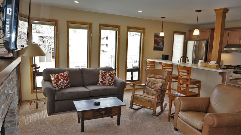 Remodeled Condo with Gorgeous Views & Outdoor Activities, holiday rental in Ketchum