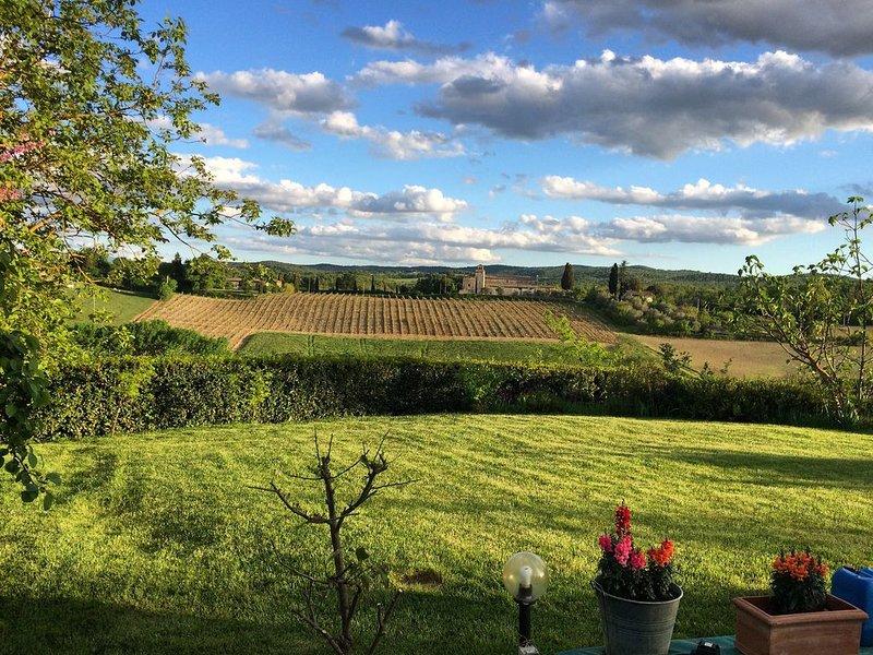 Under the Tuscan sun, Ferienwohnung in Bagnaia