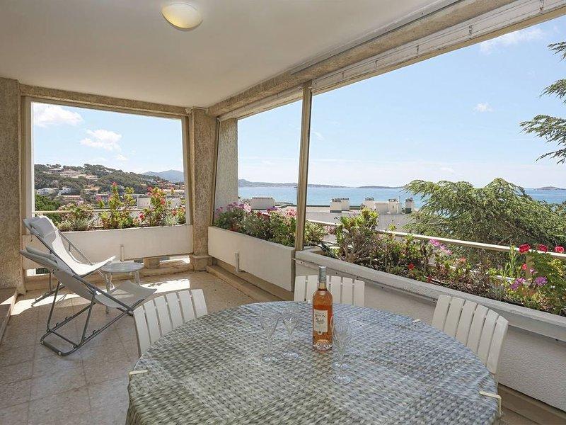 Grand T3 Belle vue mer Sanary Portissol 74m2, location de vacances à Sanary-sur-Mer