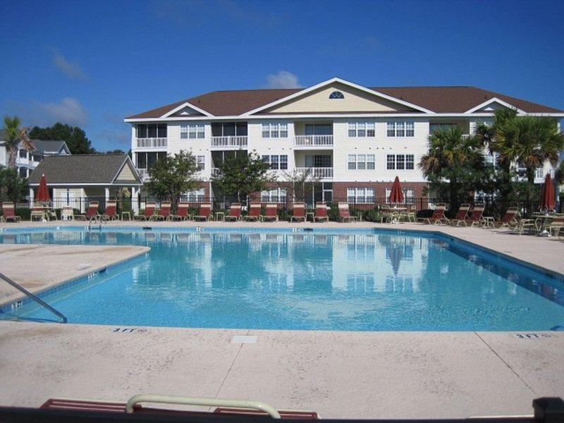 La piscina privada Comunidad Havens está a pocos pasos de distancia!