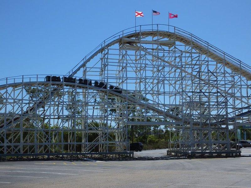 roller coaster....woo ha!