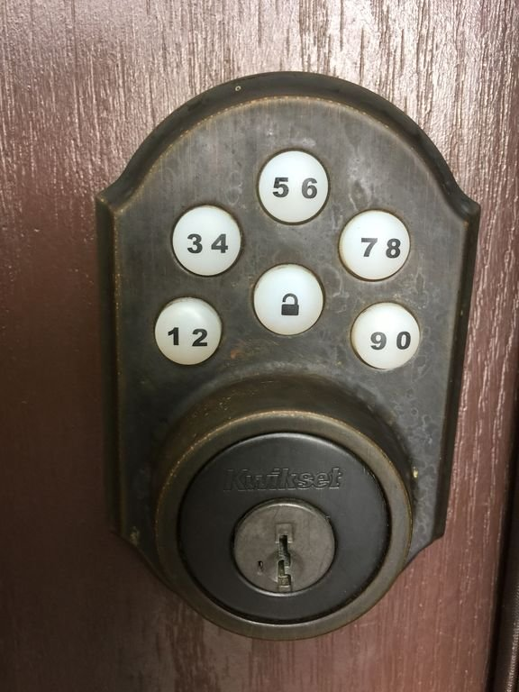 Keyless entry for easy access
