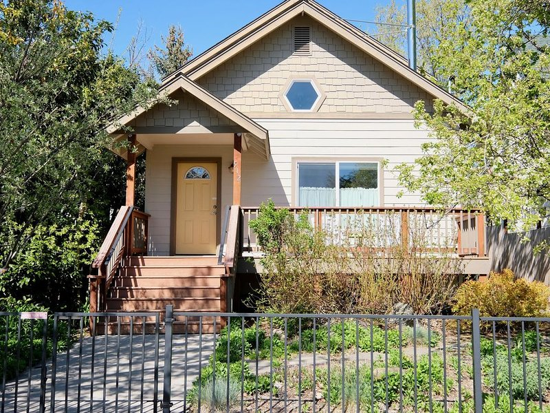 Chestnut Hollow Downtown Full Mountain View and Close to Everything!, vacation rental in McCloud