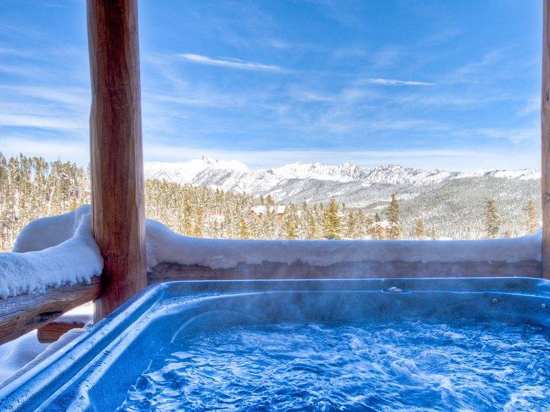 Ski-in/out Saddle Ridge/Hot Tub/Perfect 4 Families/Covid Closure Refund, alquiler vacacional en Big Sky