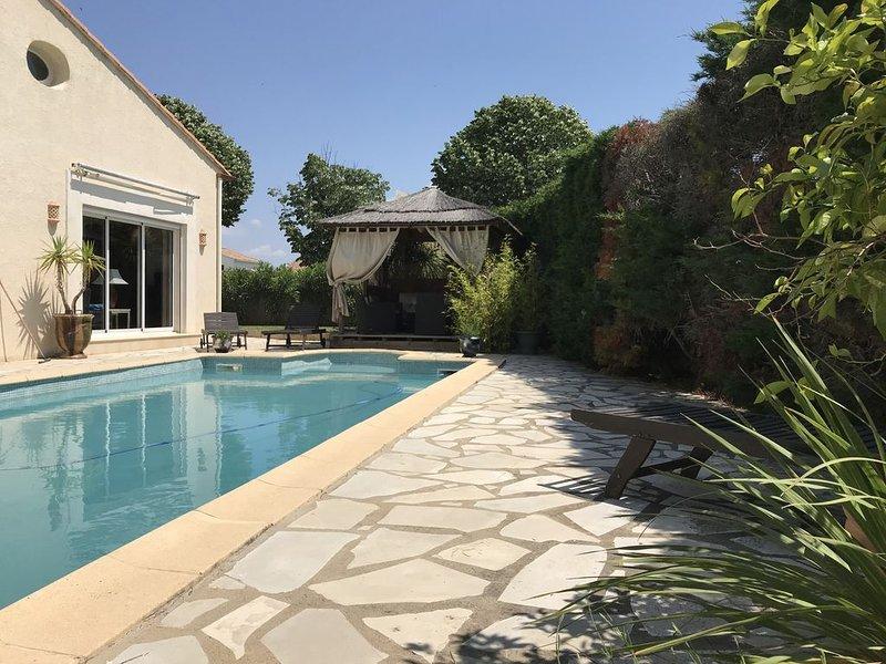 Pérols, à 5mn de la plage de Carnon  , de Palavas et  à 10 mn de Montpellier, holiday rental in Perols