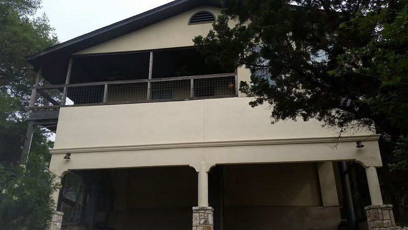 Front of home, carport
