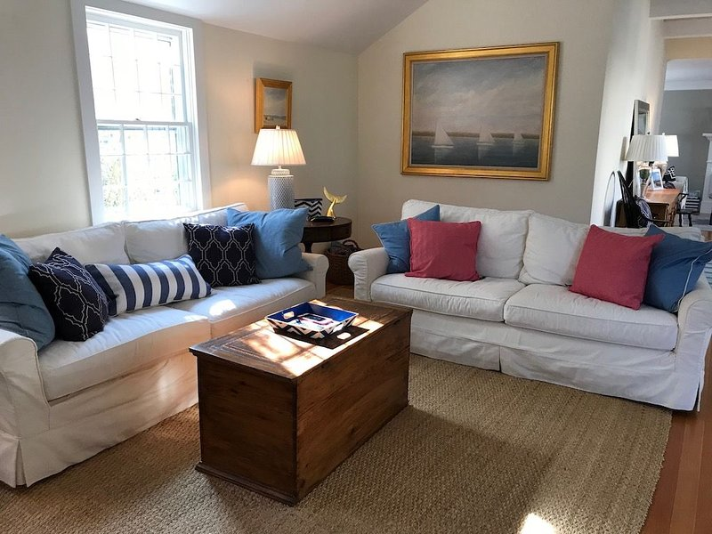 5 star Town Charmer with 'Open Concept' & updated baths, close to harbor, vacation rental in Nantucket