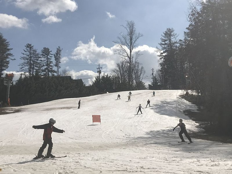 Winter skiing at Sapphire Valley Resort -10 minutes from house