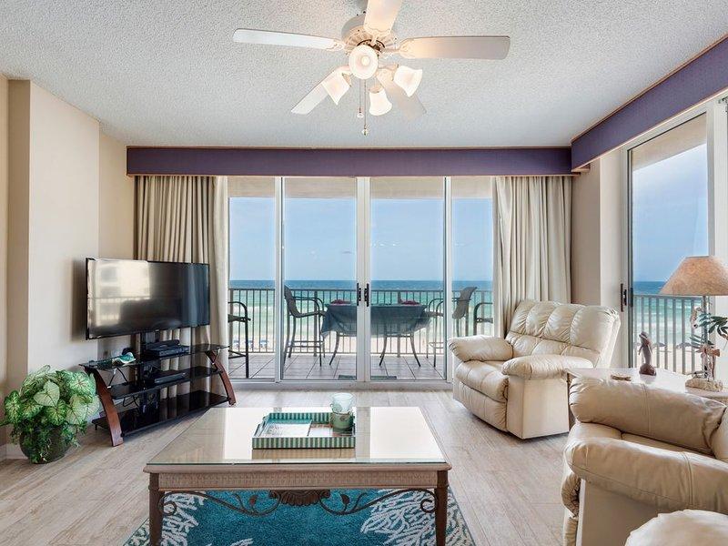 Sala de estar - 4 sillones reclinables, y una vista perfecta sin obstáculos del océano
