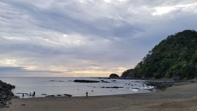 Puestas de sol en la playa Marina