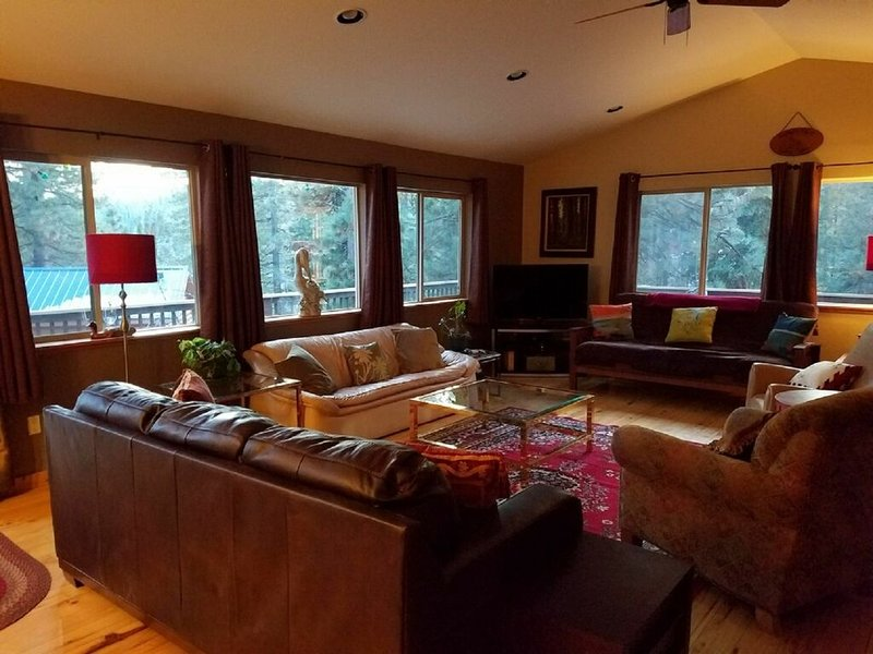 Nestled in the Forest with Beautiful Sierra Views, holiday rental in Plumas County