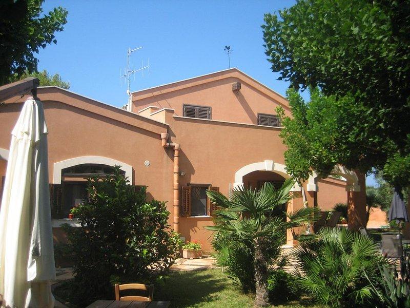 Villa degli Oleandri (Campagna, Mare, Storia, Cultura e Tranquillita' e Kite.., Ferienwohnung in Marsala