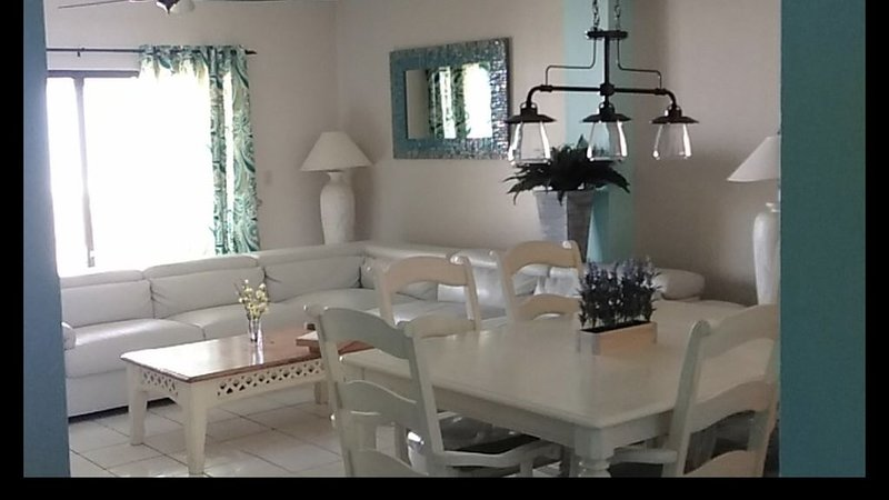 Newly remodeled condo. About time! Lol