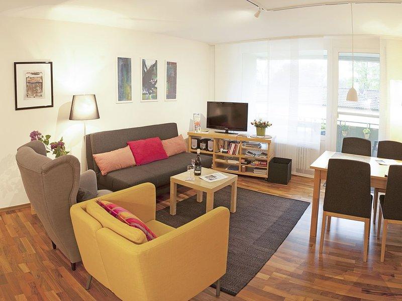 Ferienwohnung, mit ca. 60 qm, 1 Schlafzimmer, für maximal 2 Personen, holiday rental in Wasserburg