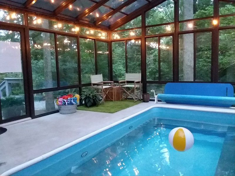 Stunning Home on a 25-acre Private Woodland Estate, vacation rental in Chestertown