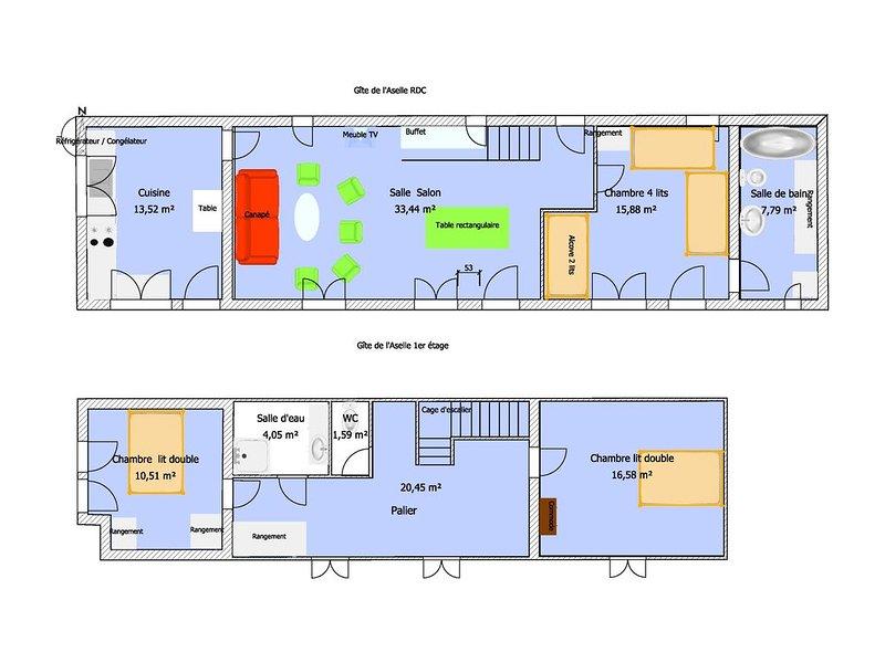 Mapa Casa de Asellus aquaticus