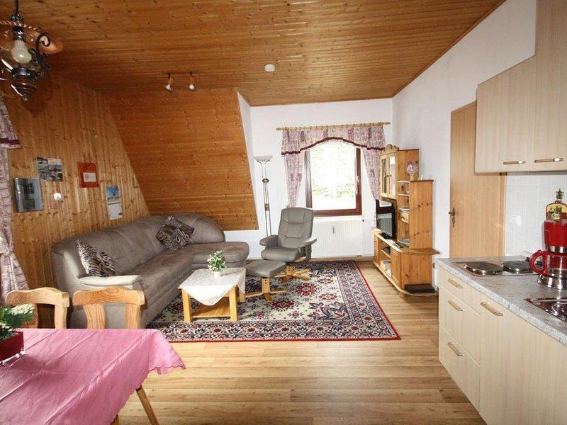 Ferienwohnung Sehmatal-Neudorf für 1 - 3 Personen mit 1 Schlafzimmer - Ferienwoh, casa vacanza a Crottendorf