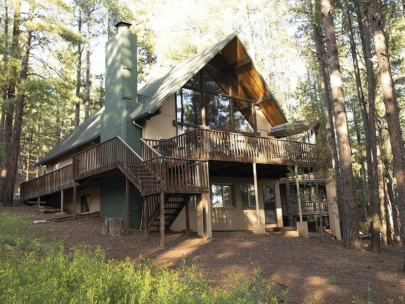 August Availability! Family fun - hike, fish, pool table, darts, fooseball, location de vacances à Mormon Lake