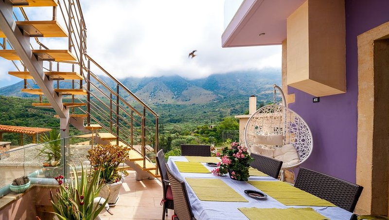Villa Iasonas in Kournas, Chania Crete, holiday rental in Kastellos