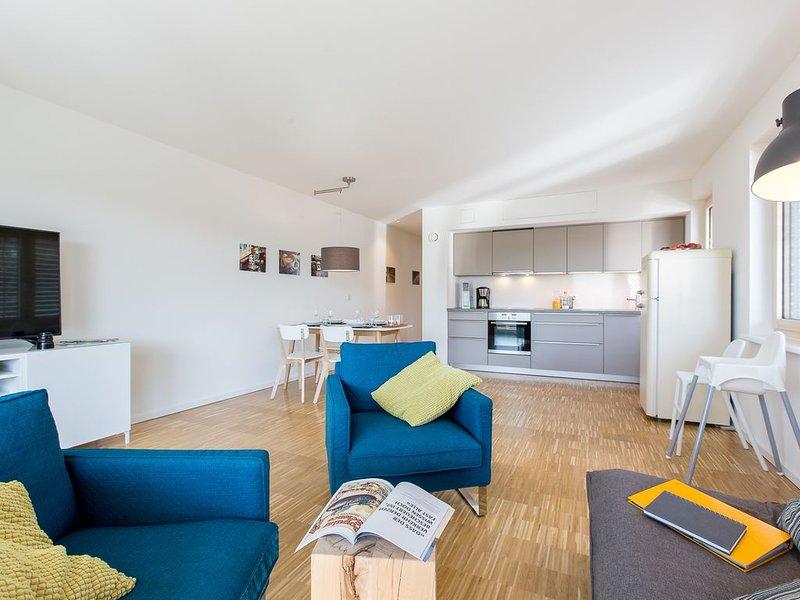 Ferienwohnung 86qm, 2 Schlafzimmer, max. 7 Personen, location de vacances à Friedrichshafen