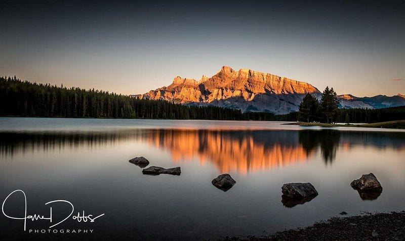 Dois Jack Lake (compartilhado com permissão de Jane Dobbs)