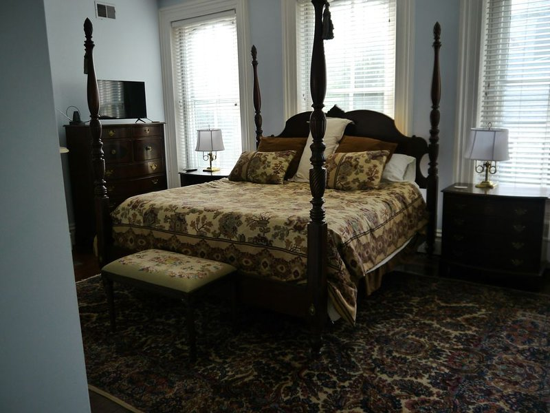 Brownstone in Historic Allegheny West, vacation rental in Crafton