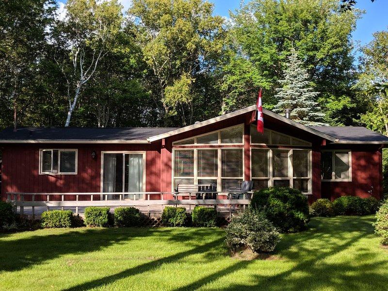 Cedar home in Seawood Estates, Stanley Bridge, PEI, holiday rental in Stanley Bridge