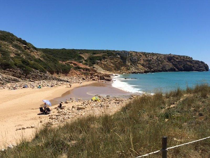 Zavial Beach, Western Algarve