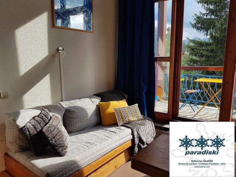 Les Arcs 1800: Apartment/ flat - Les arcs 1800, holiday rental in Les Arcs