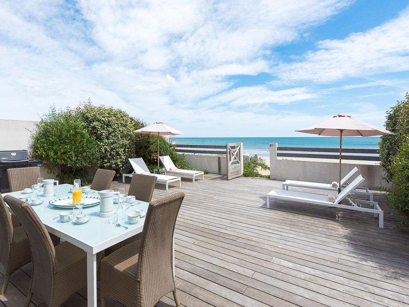 Magnifique villa sur le sable , confortable et spacieuse, location de vacances à Carnon
