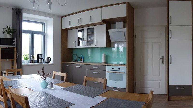 Geräumige Ferienwohnung für 6 Personen mit 3 Schlafzimmern, kinderfreundlich, vacation rental in Lauenstein
