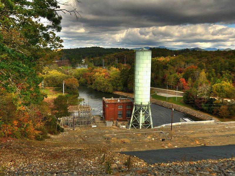 Blue Ridge Dam - Fall