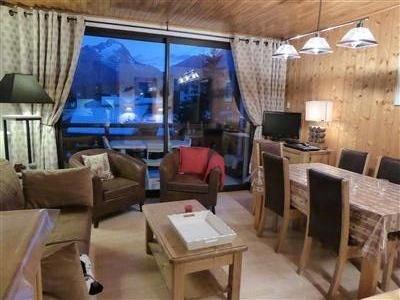 3 pièces front de neige bord pistes centre station pied  Jandri, alquiler vacacional en Les Deux-Alpes