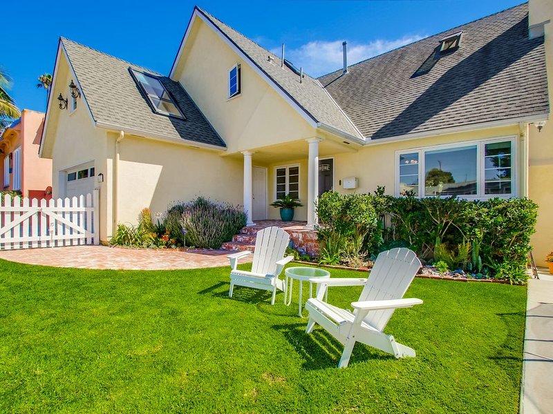 Family-friendly summer vacation rental 2 blocks from Windansea surf beach, vacation rental in La Jolla
