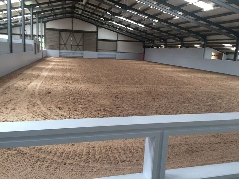 The Indoor Riding arena