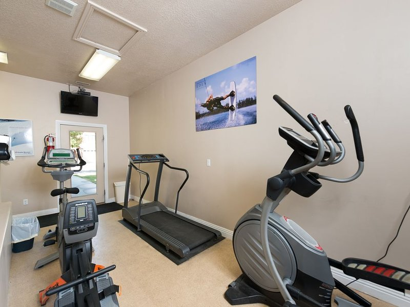 Club house work out room