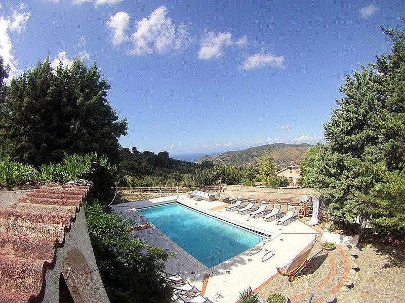 Villa Origano, rimborso completo con voucher*: Una caratteristica e accogliente, aluguéis de temporada em Cilento and Vallo di Diano National Park