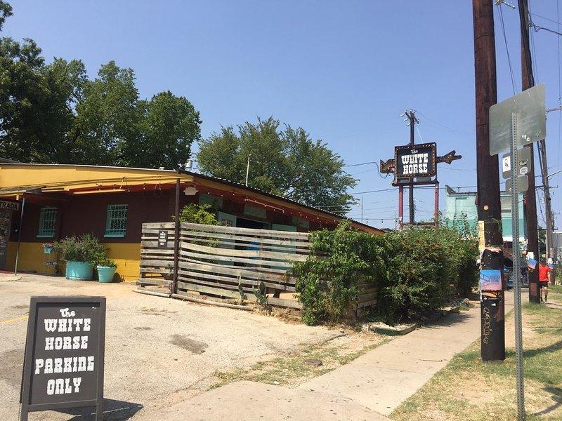 White Horse - 'East Austin Honky Tonk'  7 blocks away