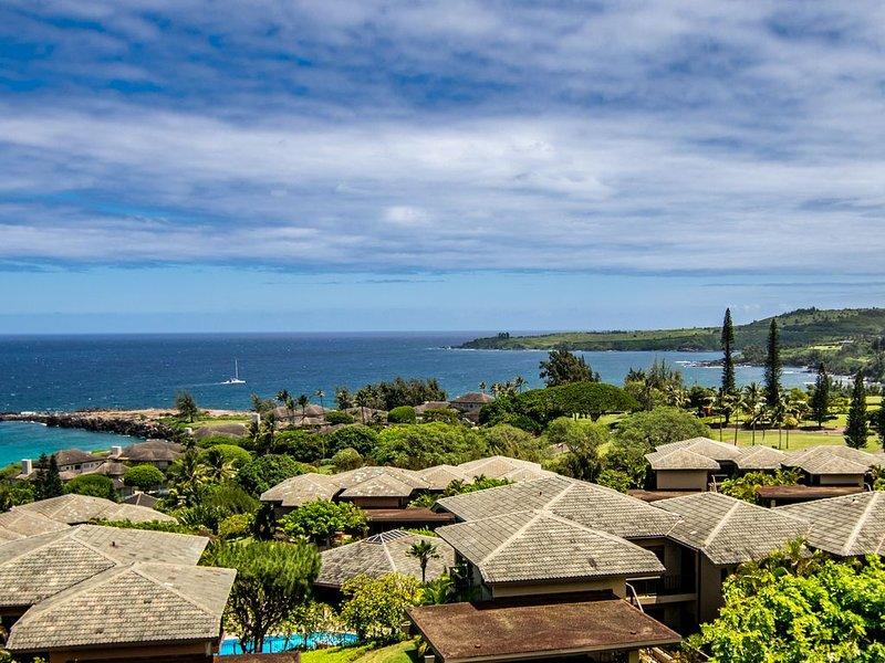 Kapalua Ridge Villa Gold! Maui's Finest 180* Views!, vacation rental in Kapalua